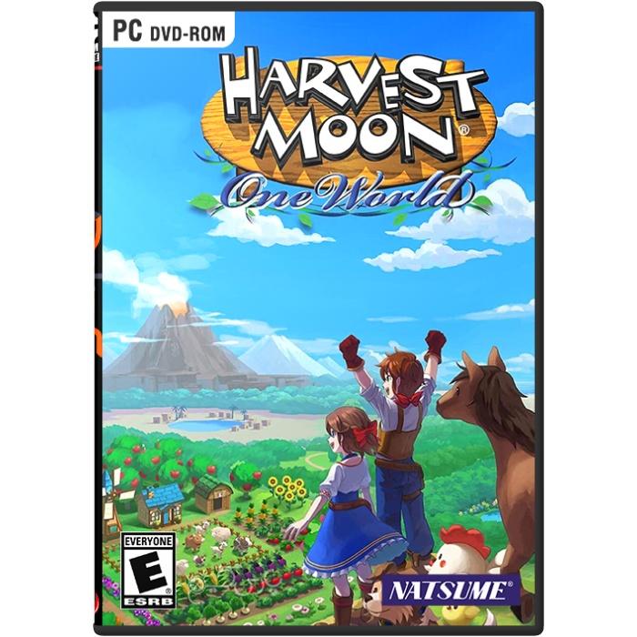 بازی کامپیوتر مزرعه دار HARVEST MOON: ONE WORLD